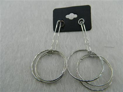 Toptan Fashion Earrings Silver Color