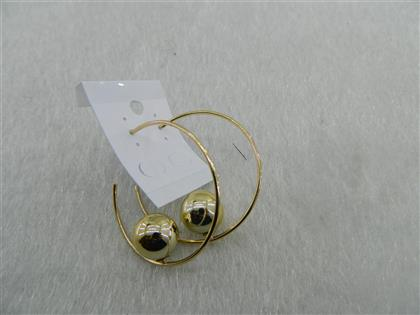 Toptan Fashion Earrings Gold Color